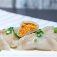 Pierogi z marchewką i tofu