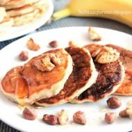 placuszki bananowe na śniadanie