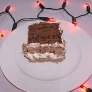 Szybkie ciasto z kremem a'la tiramisu.