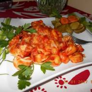 Tortellini z boczkiem i serem Mozzarella