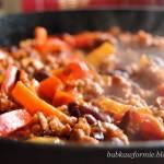 rozgrzewające chili con carne - szybki obiad