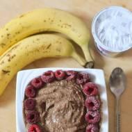 lody czekoladowo-kokosowe z bananów