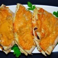 Meksykańskie naleśniki zapiekane z serem