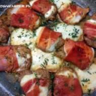 Polędwiczki z mozzarellą
