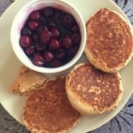 Proteinowe pancakes z płatków owsianych - bez jajek i mąki