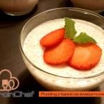 Tapioka – pudding ze świeżymi owocami