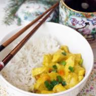 Kurczak curry z mango