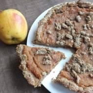 Tarta razowa jabłkowo-orzechowa
