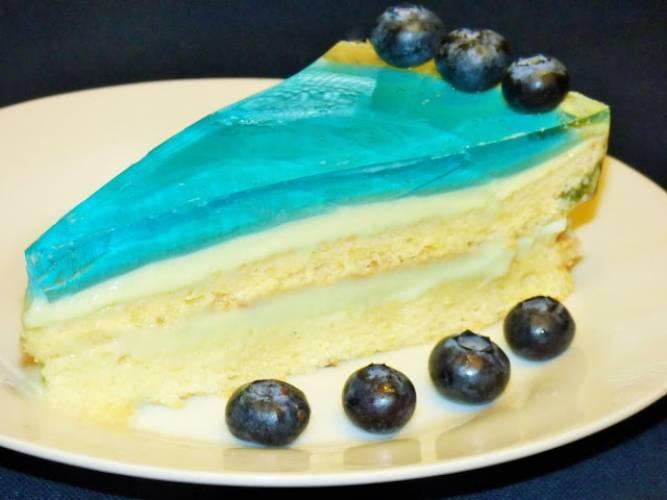 Ciasto ,,Błękitna laguna