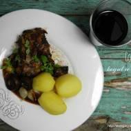 Coq au vin czyli kogut w winie
