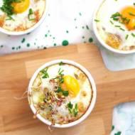 Kasza jaglana zapiekana z jajkiem