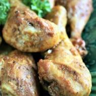 Kurczak z curry i imbirem (pieczony w rękawie)