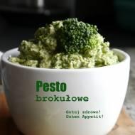 Pesto z surowego brokuła