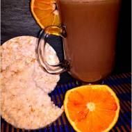 Pomarańczowe kakao z nutą cynamonu