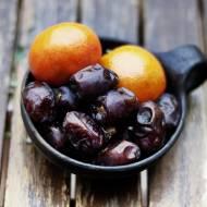 Pomarańczowe smoothie z daktylami