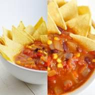Prosta zupa meksykańska z nachosami (6 składników)