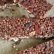 Proste batoniki czekoladowe bez pieczenia