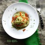 Brokułowe spaghetti