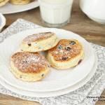 szybkie placuszki a la ciasteczka z patelni