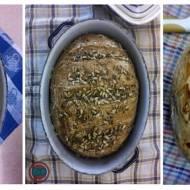 3 x chleb z garnka