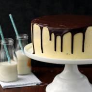 Tort waniliowy z czekoladą…