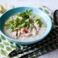 Zupa ryżowa z kurczakiem