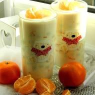 Deser jogurtowo-mandarynkowy