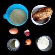 Kotleciki z ryżu i kurczaka