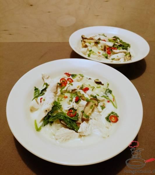 Przepis Na Tajska Zupa Kokosowa Z Kurczaka Tom Kha Gai