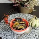 Małże w sosie dyniowym