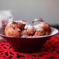 Mini pączki z serem ricotta
