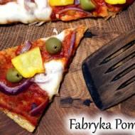 Pizza na spodzie z mąki z cieciorki