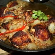 Smażony , pieczony, kurczak z chilli