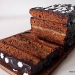 Błyszcząca polewa czekoladowa do ciasta