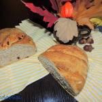 Pszenny chleb z żurawiną