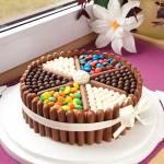 Tort dla dzieci + 17 urodziny :)