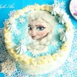 """Tort Ptasie Mleczko """"Frozen"""""""