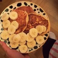 Pancakes z twarogiem na mące kukurydzianej