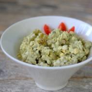 Sałatka / pasta z jajek z avocado
