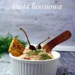 Pasta łososiowa z kaparami