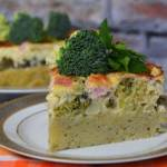 Torcik ziemniaczano-brokułowy