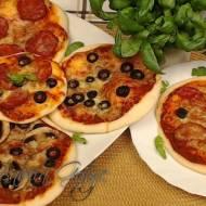 Mini Pizza - Przepis krok po kroku