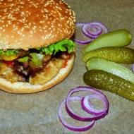 Wegański burger