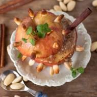 Pieczone jabłka z migdałami
