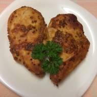 Pierś z kurczaka w miodowo-musztardowej marynacie