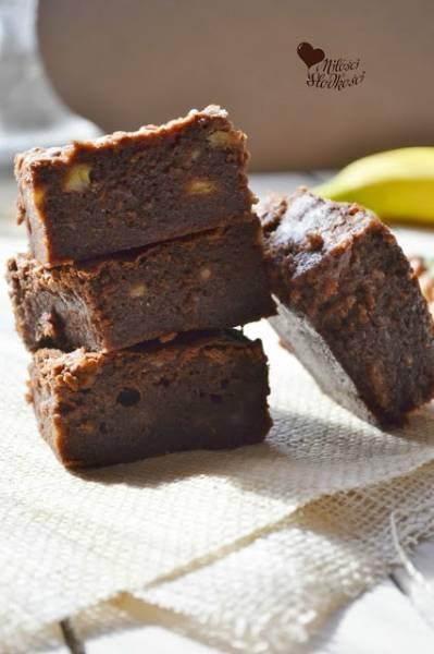 Przepis Na Ciasto Bananowo Czekoladowe A La Brownie Z Milosci Do