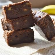 Ciasto bananowo - czekoladowe a'la Brownie