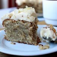 Ciasto na niedzielę szybkie i łatwe #15 Wilgotne ciasto cytrynowo-migdałowe