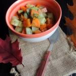 Gotowana kalarepka z marchewką