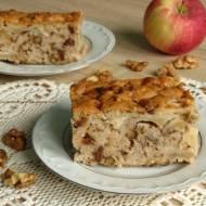 Ciasto jabłkowo - bakaliowe.